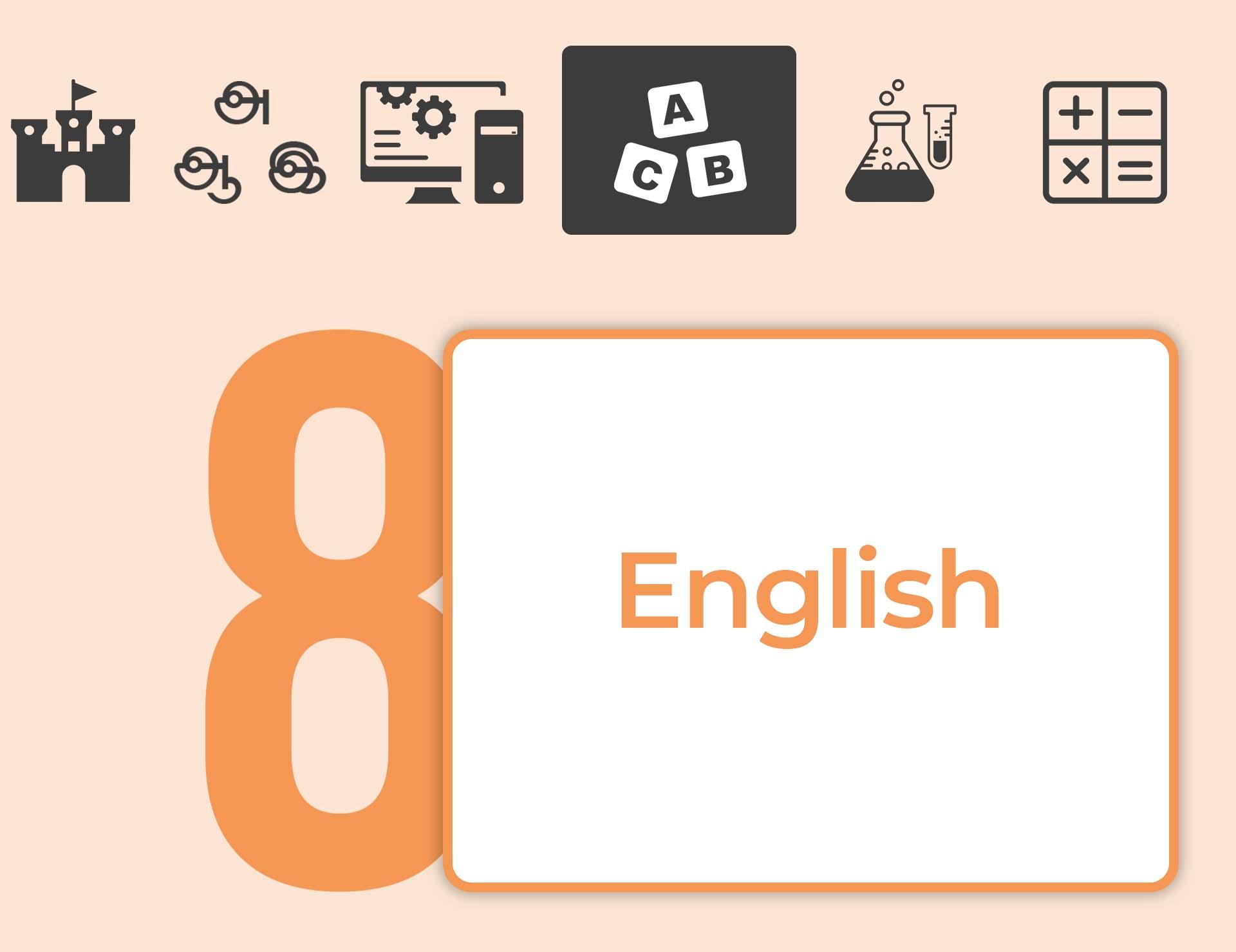 தரம் 08 ENGLISH