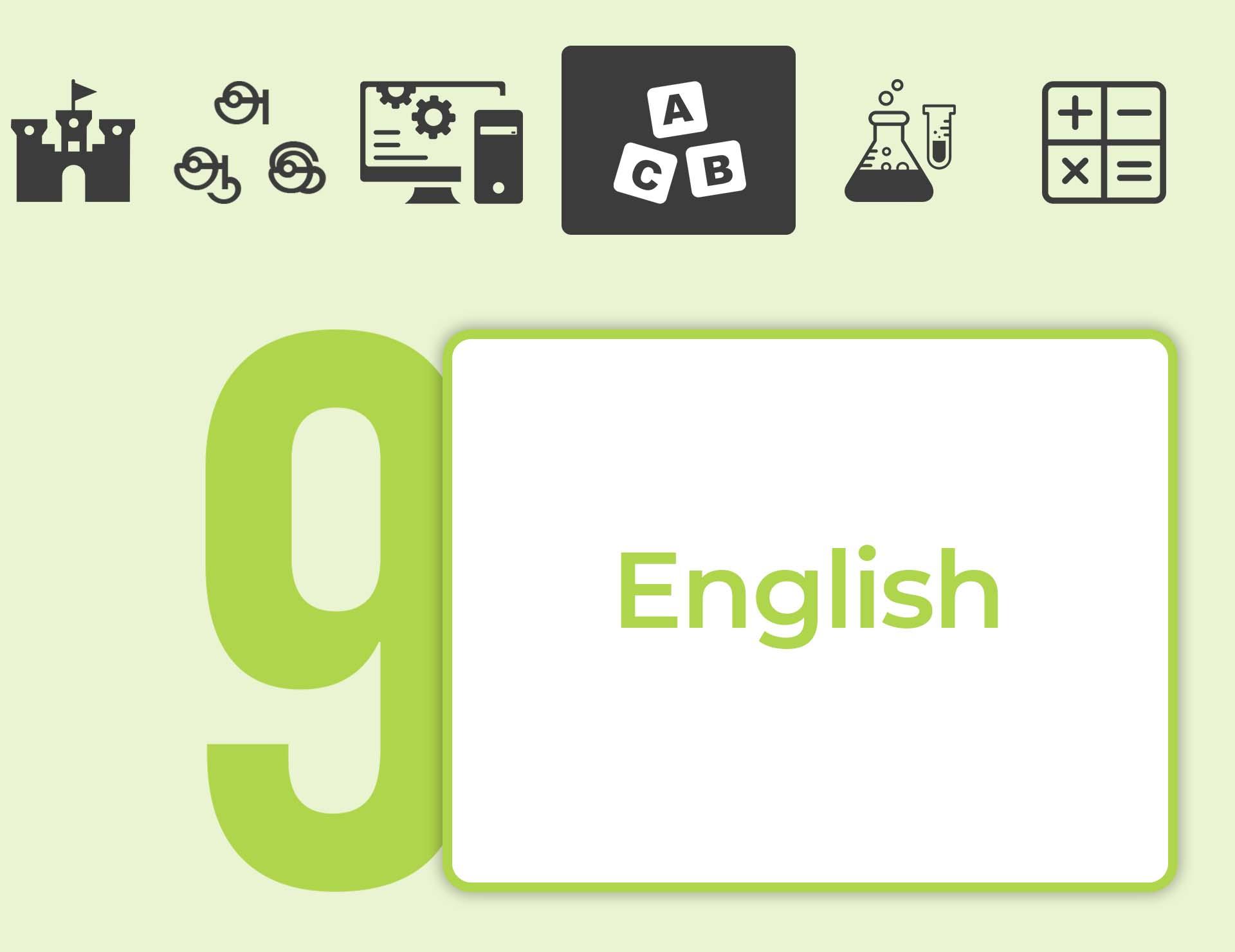 தரம் 09 ENGLISH